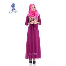 60011High quality ladies chiffon muslim abaya appliques design muslim abaya women fashion full lining islamic dress muslim abaya