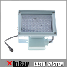 Free Shipping 54 Strong LED Auxiliary Lighting for Surveillance CCTV Camera,50m Infrared LED,XR-IL-1,Wholesale