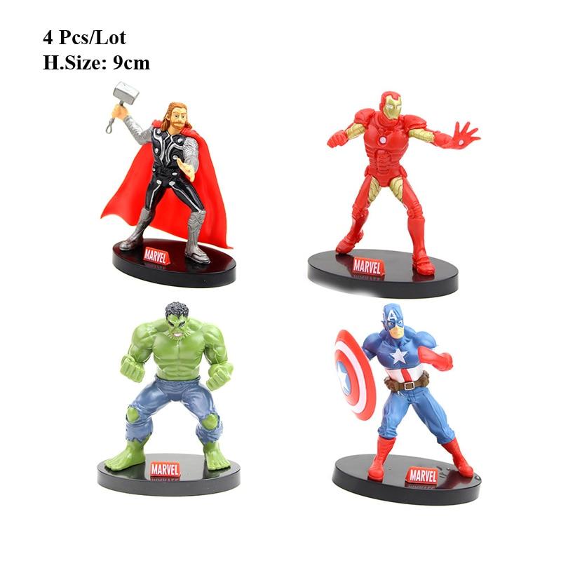 Groovy Hot Toys Avengers Superhero Party Cake Topper Avengers Toys Funny Birthday Cards Online Elaedamsfinfo