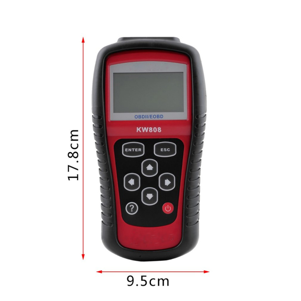 2017 New arrival car diagnostic tool Autel OBD Scan Tool OBD2 Scanner Code Reader Scanner KW808