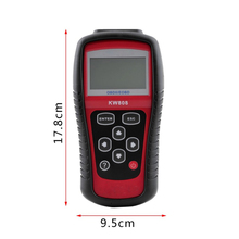 2017 New arrival car diagnostic tool Autel OBD Scan Tool OBD2 Scanner Code Reader Scanner KW808 hot selling
