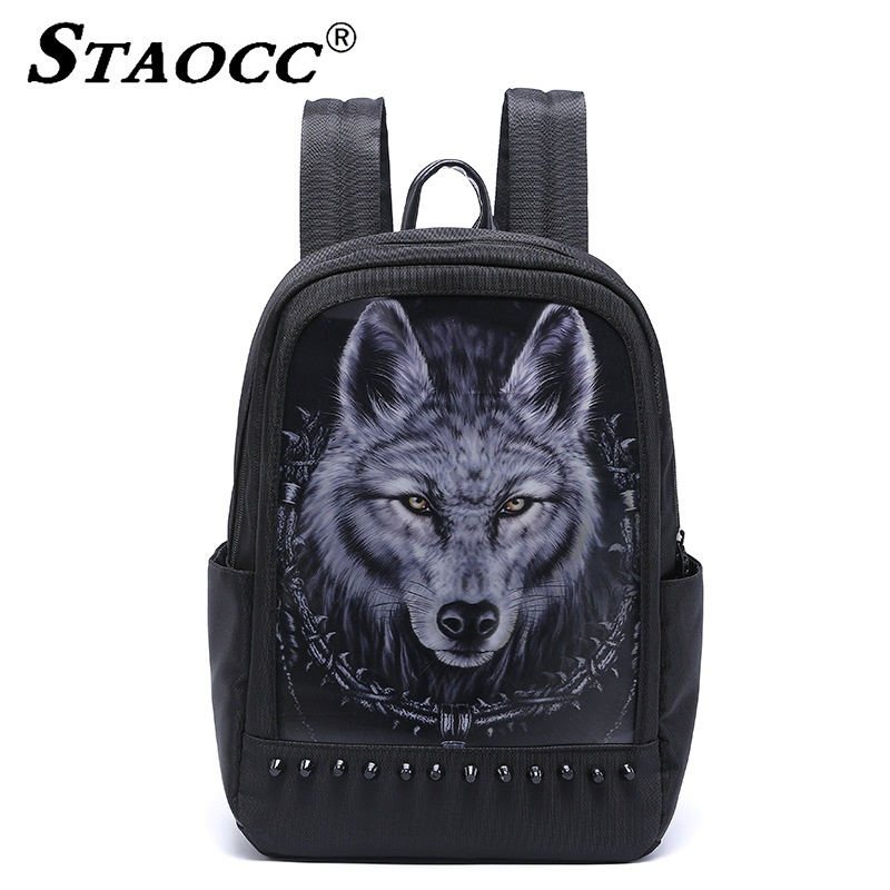 Unisex 3D Animal Print Backpack Women Mochila School backpack Laptop Bag Waterproof Oxford Men Casual Travel Bagpack Sac A DosUnisex 3D Animal Print Backpack Women Mochila School backpack Laptop Bag Waterproof Oxford Men Casual Travel Bagpack Sac A Dos