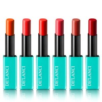 DE'LANCI Brand Waterproof Lipstick Long lasting Makeup Batom Maquiagem Matte Lip stick Korean Style