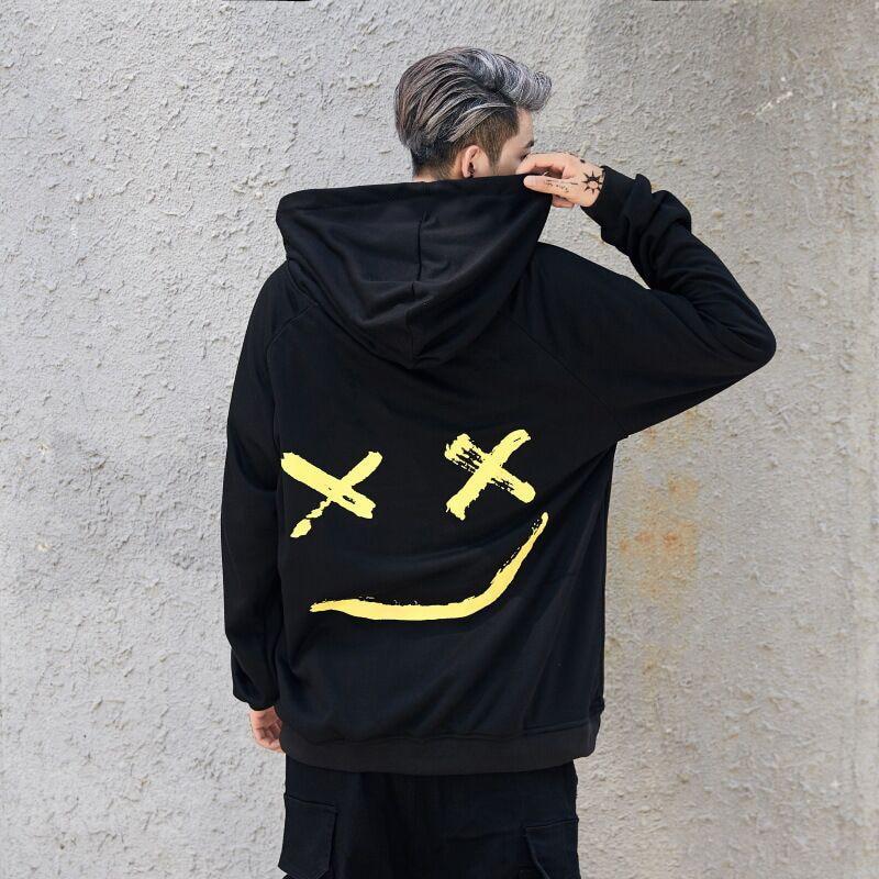nya mode hoodies herrtröja tryck hoodie herr coola tröjor med - Herrkläder - Foto 6