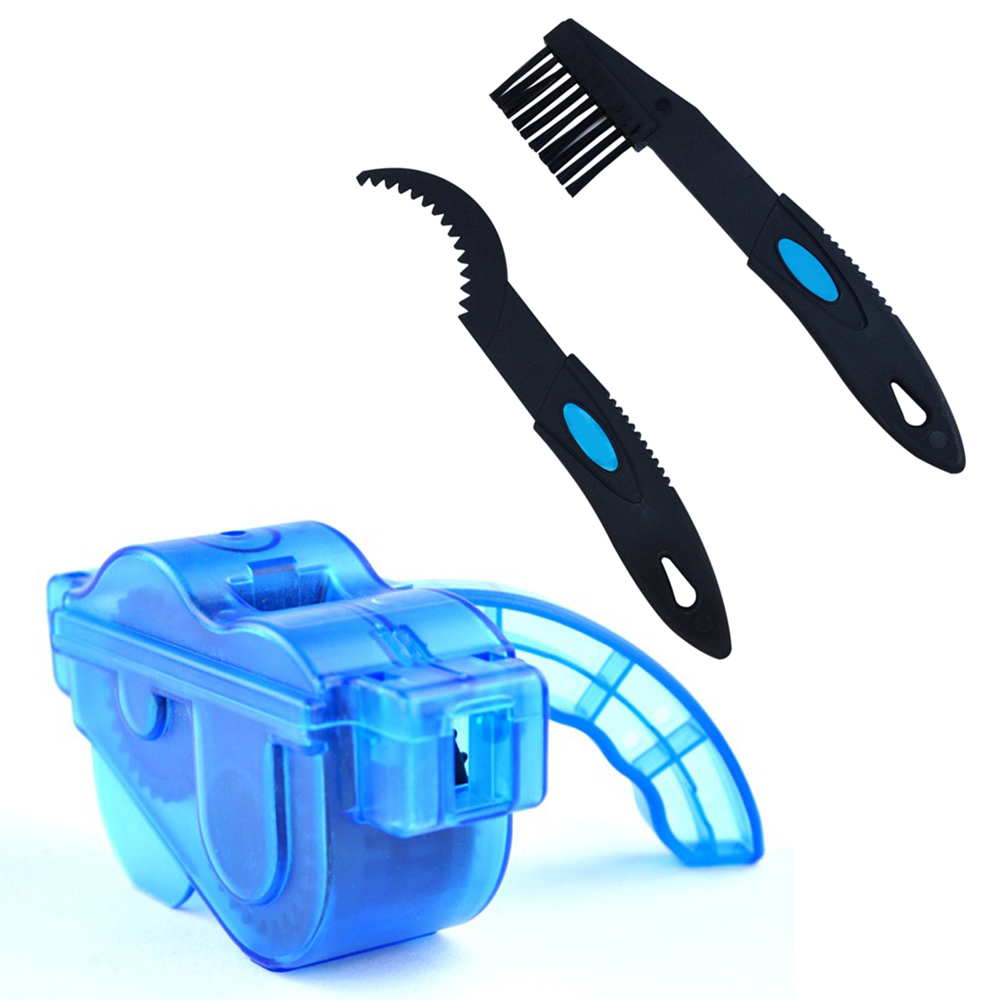 MTB Cycling Bicycle Bicycle Chain Cleaner Tool Set Steering Wheel Clean Wash Tool Bicycle Chain Cleaning Cleaning Brushes Purifi