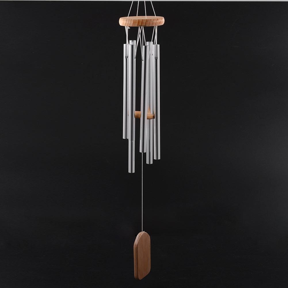 antique amazing grace deep resonant 6 tube windchime chapel church bells wind chimes door hanging dec