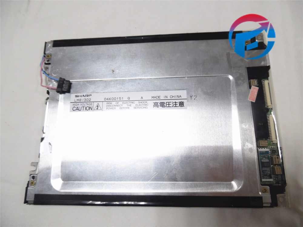 LM8V302R 7.7 inch Industrial LCD screen Panel Used original original lcd 40z120a runtka720wjqz jsi 401403a almost new used disassemble
