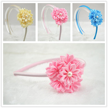 The leaves of flowers of rhinestones headbands strip of hair for women boutique accessories decorative head band  1pcs Girls Accessories