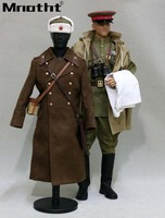 1/6 Scale WWII 1944 Soviet Red Army Captain of infantry uniform Set Without Head Sculpt Body Model for 12inch Action Figures m5