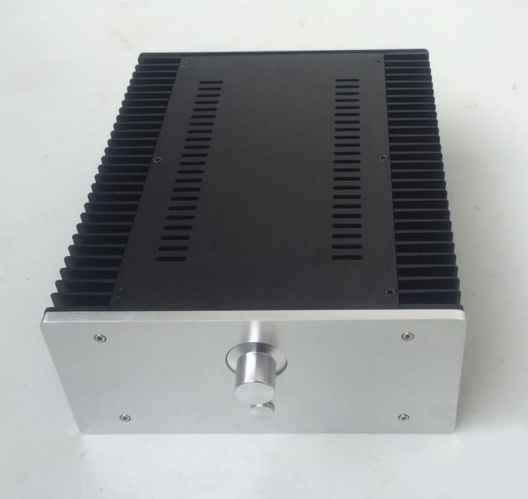 Breeze Audio diy Aluminum chassis power amp aluminium enclosure amplifier enclosure class a amplifier chassis aluminium chassis free shipping vi jt3 cx dc dc 110v 24v 75w