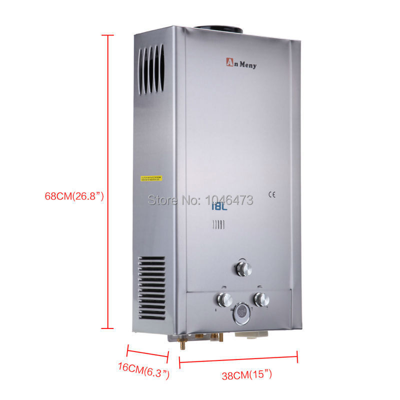 Ship from US) 18L LPG Gas Propane Tankless Instant Hot Water Heater ...