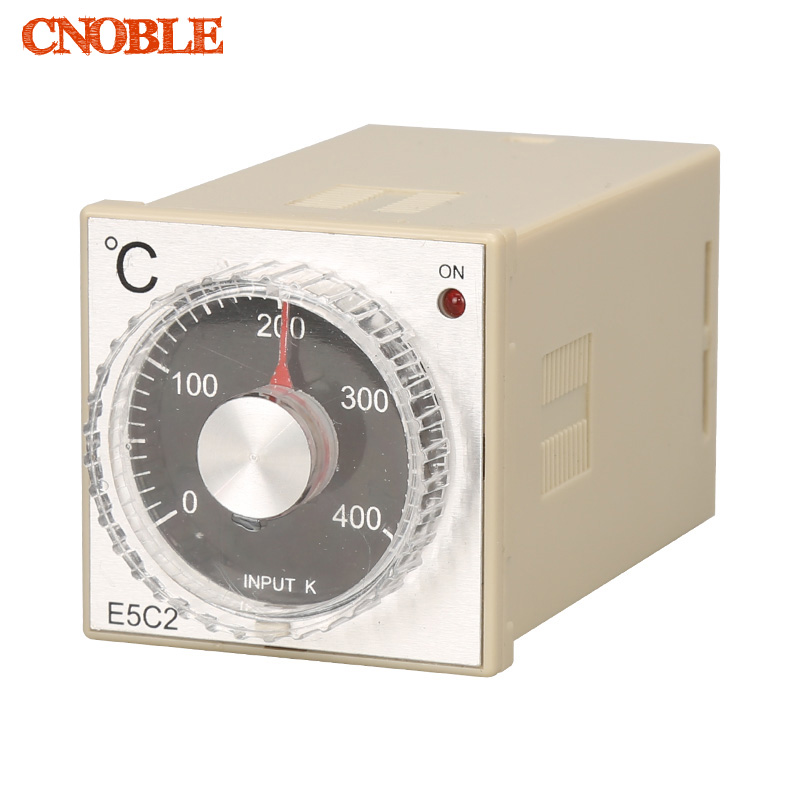 0-399C 220V K type thermocouple Input guide rail type temperature controller E5C2, PID controller, temperature meter