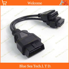 1 pcs 16 Pin OBD2 male to female ELM327 Adapter/extension cord/cable for ECU OBD2 diagnostic tools,30cm OBD cable