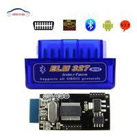 ELM 327 V 1.5 Elm327 Bluetooth Obd2 V1.5 Car Diagnostic Tool Scanner Elm-327 Obd 2 Adapter Auto Diagnostic-Tool 50pcs