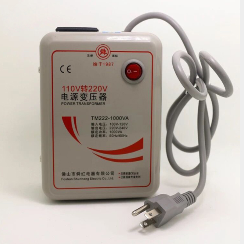 Transformers 1000W, AC110V to AC220V, Power Supply