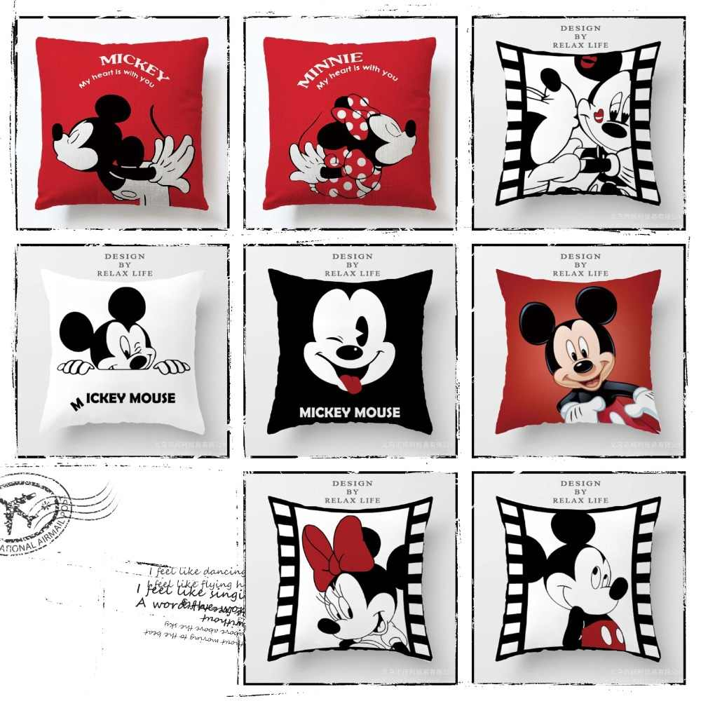 Mickey Mouse Bantal Coussin Minnie Cojines Del Mickey Cuscino Minnie Mickey Oreiller Lucu