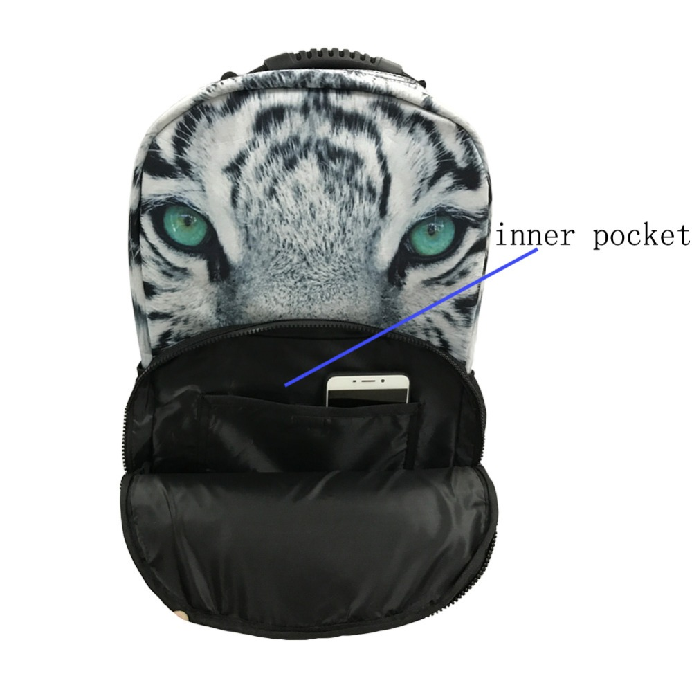 Forudesigns Pretty Printing Butterfly Backpack For Teens Girls Polyester Women Travel Backbag Primary Middle School Kids Bagpack #6
