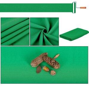 Image 4 - Nền Chụp Ảnh Phông Nền Mịn Muslin Cotton Xanh Màn Hình Chromakey Cromakey Vải Nền Cho Studio Ảnh Video
