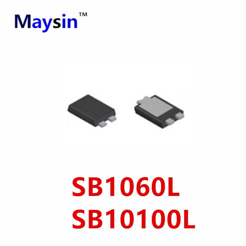 20PCS 100PCS 500PCS SB1060L   SB1060 SB10100 SB10100L  TO-277B HIGH QUALITY