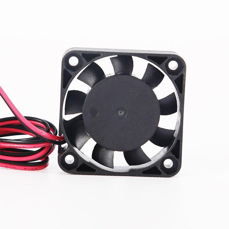 2 Pin 40*40mm Super Stille Mini Kühlung Fans 4010 Extruder DC Lüfter DC 12V 3D drucker Zubehör