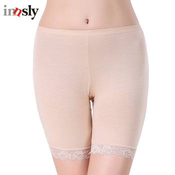 3 Pieces/Pack Safety Short Pants Large Size Boyshort Safety Panties Big Size Shorts Under Skirt Women Safety Pant women's panties