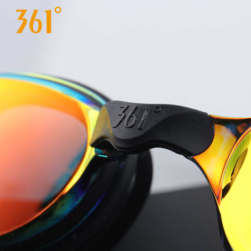 361 Myopia Swimming Goggles Men and Women Adult  HD Waterproof Anti-fog Prescription Swimming Glasses Sports Equipment