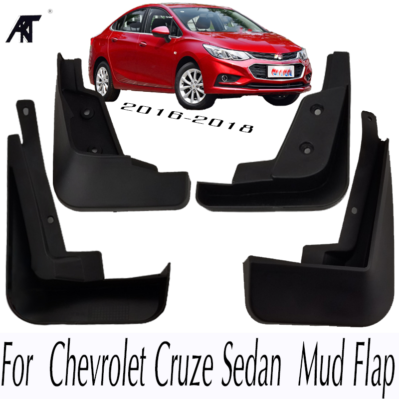 Auto Front /& Rear Side Mud Flaps Splash Guards Fit For Chevrolet Cruze 2017
