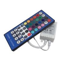 5pcs RGBW LED Controller DC12V 40Key IR Remote Controller for RGBW or RGBWW LED Strip Lights. homsecur 5pcs keyfob 5pcs card exit button power supply remote controller