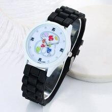 2018 New Hot Sale Fashion Watch Unisex Popular Womens Watches Quartz Clock Ladies silicone jelly Band Wristwatch kobiet zegarka