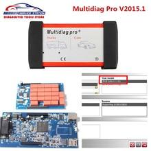 2016 Новый TCS CDP Multidiag pro v2015.1 Bluetooth Для Автомобилей/Грузовик Multidiag Новый VCI с высокая производительность, поддержка 2015 новые модели