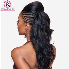 Pre Plucked 360 Lace Frontal Wig With Baby Hair 180% Density Brazilian Body Wave Remy Human Hair Wigs For Black Women Rosa Queen