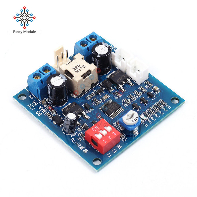 US $3 26 24% OFF|DC 12V 5A PWM PC Fan Temperature Manumotive Speed  Controller Module CPU High Temp Alarm Buzz Board For Arduino Heat Sink-in  Motor
