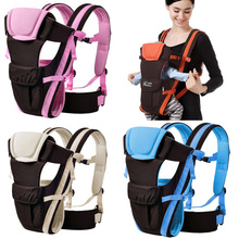 0 24 Months Breathable Front Facing Baby Carrier Infants Baby Sling Backpack Kangaroo Bags Child Thickening Suspenders Backpacks