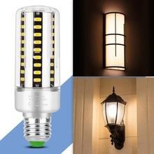 E27 LED Corn Bulb E14 LED Lamp 220V Light Bulb Candle Lamp 110V LED Bulb 5W 7W 9W 12W 15W 20W 25W High Power SMD 5736 Ampoule viewi 4x ampoule dimmer led bulb super bright 110v 220v e27 25w dimmable corn bulbs light for home lighting 5736 130 leds lamps