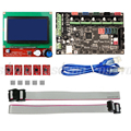 MKS Gen V1.4 3D Printer Kit Control Board MEGA2560 Motherboard  + RAMPS 1.4 With USB Cable+ 12864 LCD+ 5PCS A4988 Stepper Motor