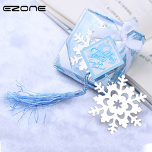 EZONE 1PC Kawaii Butterfly Love Snowflake Shape Bookmark Small Gift For Child Friend Family Book Page Mark With Gift Box Supply платье love linen page 7 page href page 12