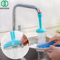 WHISM Plastic Regulator Splash Tap Adjustable Water-saving Filter Kitchen Shower Faucet Nozzle Kitchen Bathroom Accessories