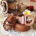 Богема плетение солома пляж ремень bianzi ремень