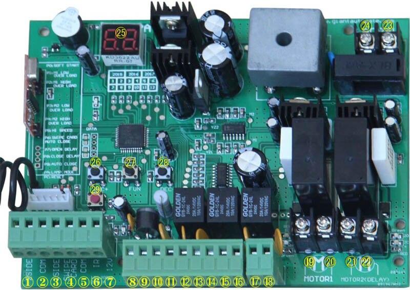 v com controle remoto GSM Selecionar por