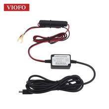 Original Cable de Conexión 0801 A119 VIOFO A119S A118 A118C A118C2 B40 Cámara del coche DVR Kit de Cable de alambre Duro Fusible Mini Grabadora USB
