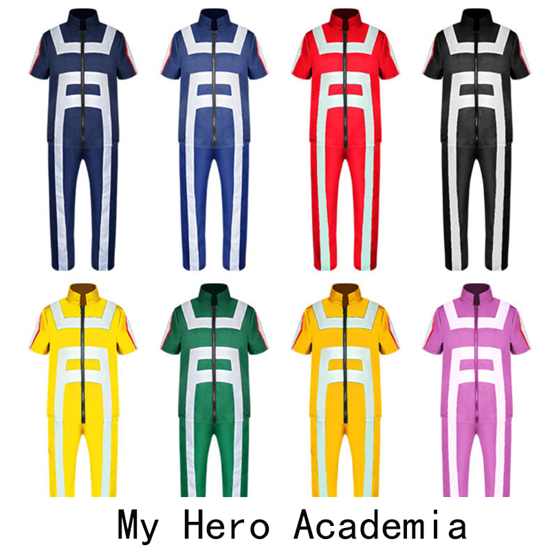 My Hero Academia Cos Exploded Hao Sheng Iida Tenya and He Froze College Gym Clothes   anime cosplay   adult costume