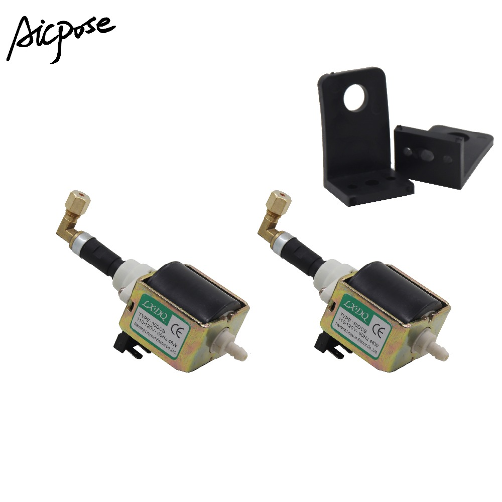 2Pcs/lots 55DCB 48W Oil Oump Use For 2000w 3000W Smoke Machine Electromagnetic Pump Fog Machine Accessories
