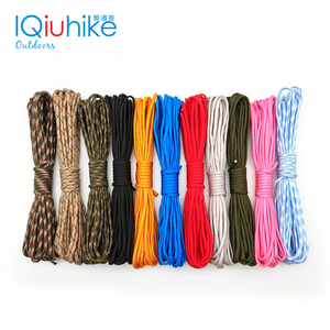 IQiuhike 5 Meters Dia.4mm 7 stand Cores Paracord for Survival Parachute Cord Lanyard Camping Climbing Camping Rope Hiking