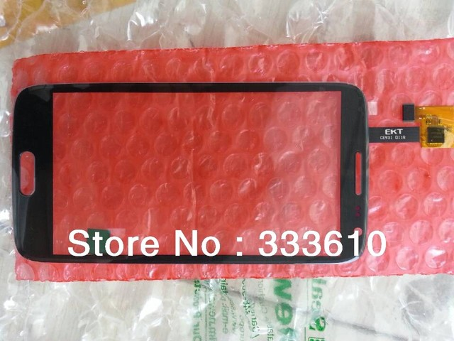 (Gray+white color)N9500 Original New Touch Screen Glass Digitizer/Replacement for STAR N9500 S4 MTK6589