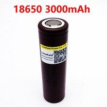 2017 2 unids nueva the original para lg hg2 18650 3000 mah 3.6 v 30 dedicada a la descarga bateria cigarrillo electroni