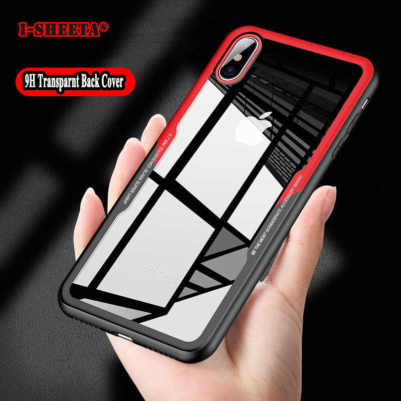 Shockproof Phone Case For iPhone 7 8 Cases 0.7MM Clear Transparent Cover For iPhone X XS Max XR 6 6s Plus Case Funda Accessories