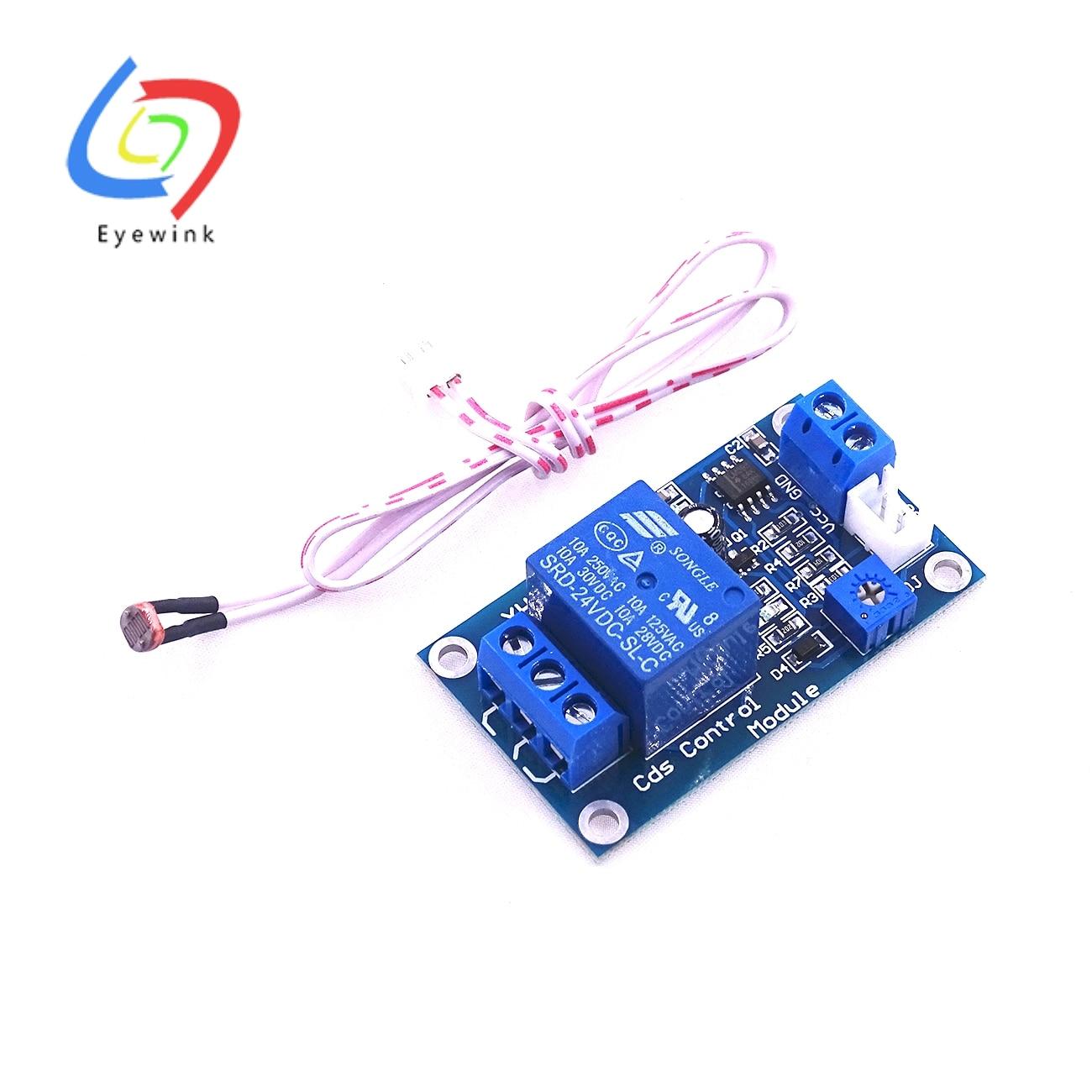24V XH-M131 Light Control Switch Photoresistor Relay Module Detection Sensor