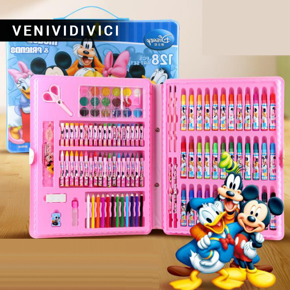 Sale rushed kit stationery gift primary children birthday tools supplies essential papelaria pens marker painting