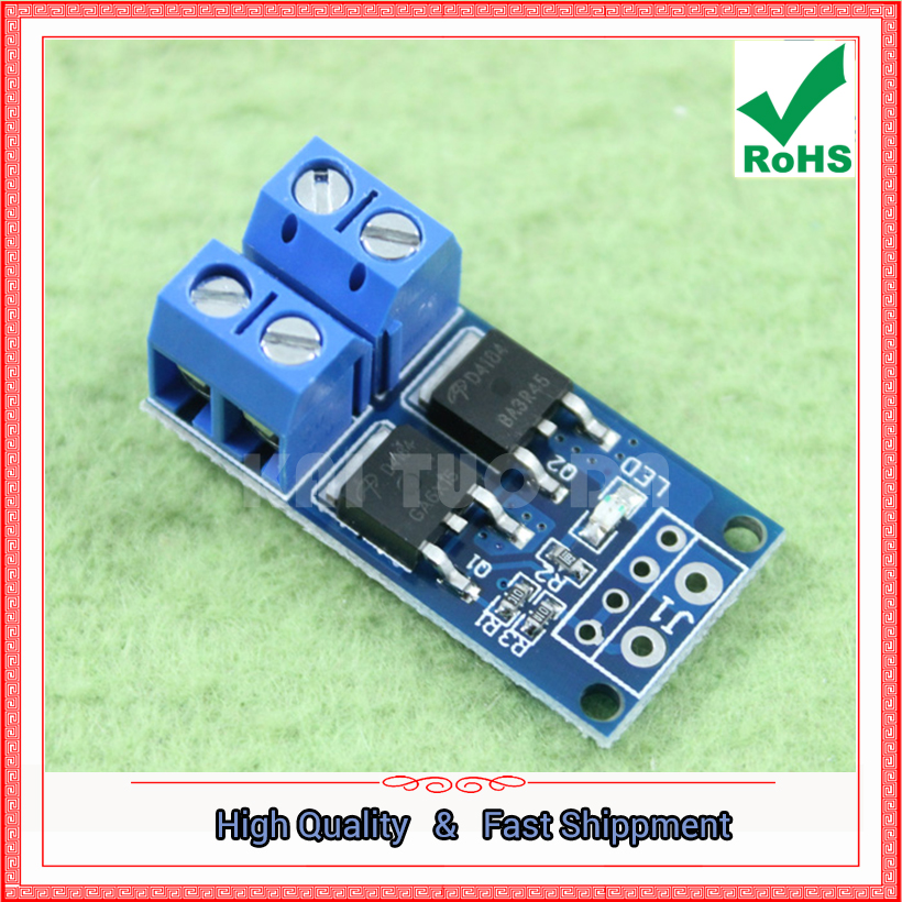 h6a5 0.14kg Lower Price with Four Field Fet Mos Electronic Switch Control Panel Pulse Trigger Switch Dc Control