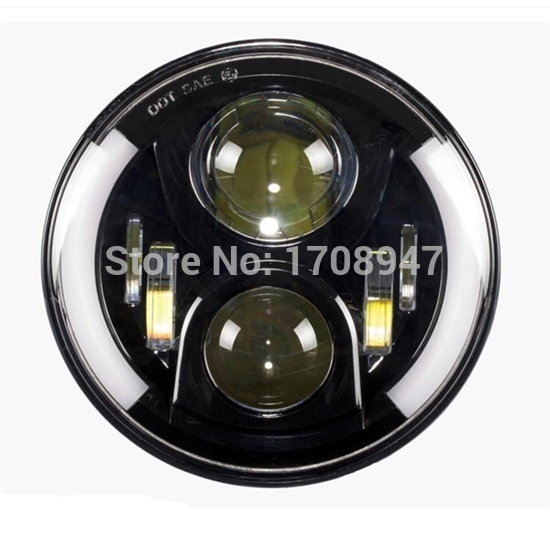 2017 the best sellers discount special price 7inch 60W 20W led headlight for wrangeler vehicle offroad use only best price 5pin cable for outdoor printer